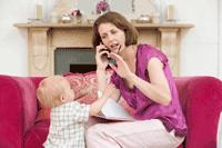 thuiswerk moeder