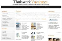 Thuiswerkvacatures 2011